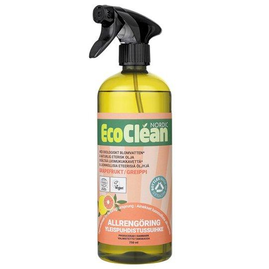 EcoClean Nordic Naturlig Allrengöring Grapefrukt, 750 ml