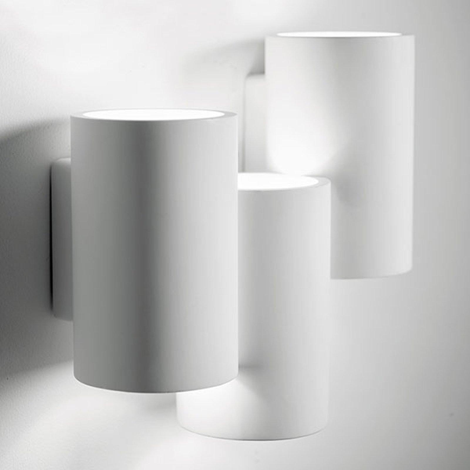 Vegglampe Arta med tre sylindere