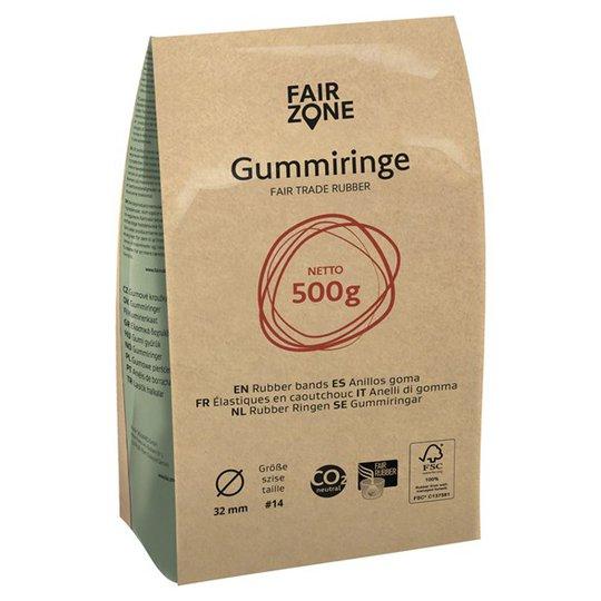 Fair Zone Gummisnoddar, 500 g