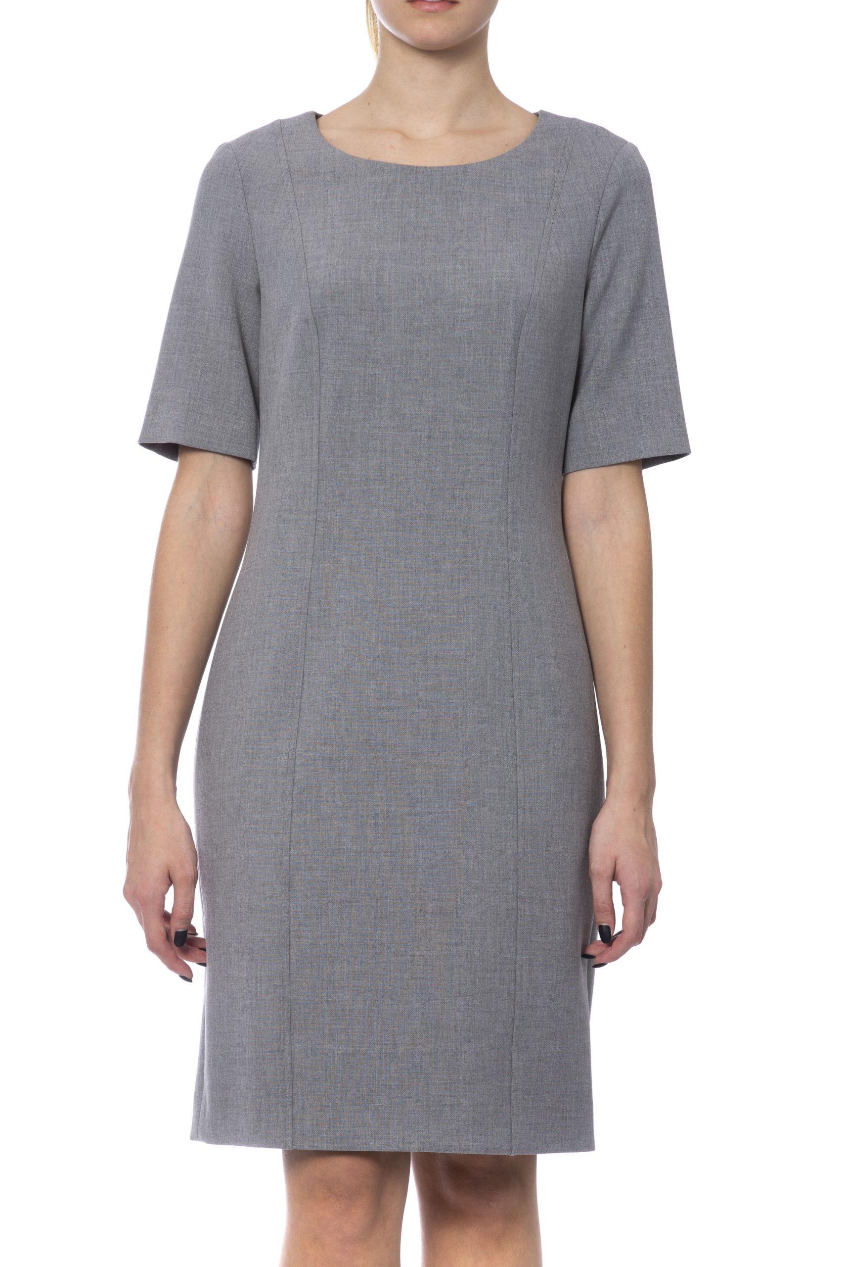 Peserico Women's Dress Grey PE993544 - IT42 | S