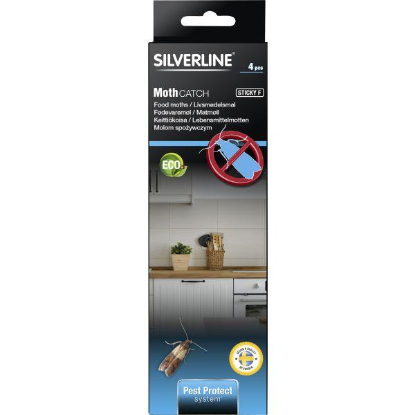 Silverline MotMal Limfelle 4-pakning