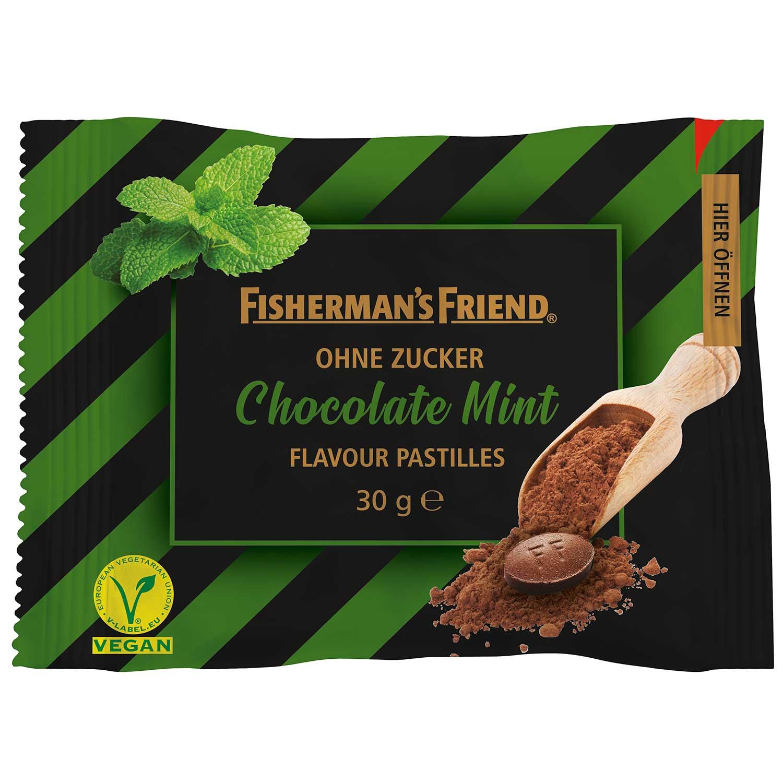 Fishermans Friend Chocolate Mint 25g