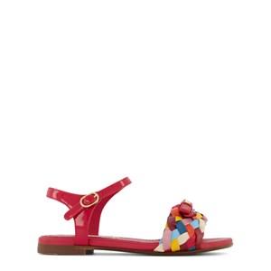 Dolce & Gabbana Braid Sandaler Röda 32 (UK 13)