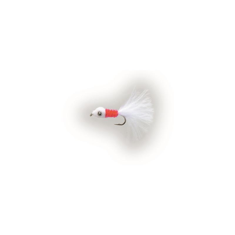 Poppy Nobbler #8 White/Red Kjøp 12 fluer få gratis flueboks