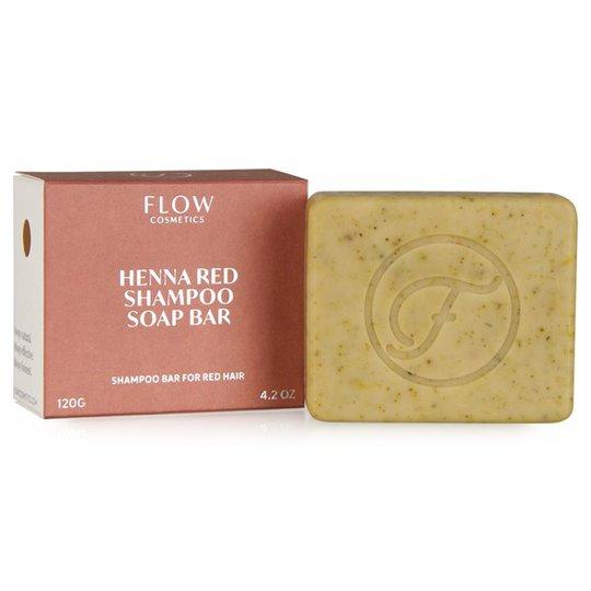 Flow Cosmetics Ekologisk Schampotvål för Rött hår, 120 g