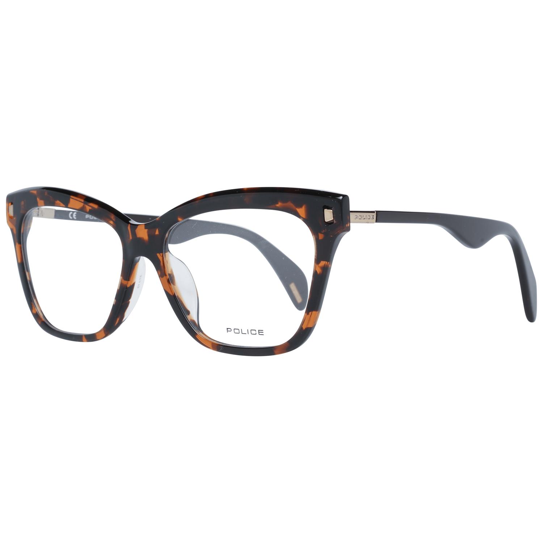 Police Women's Optical Frames Eyewear Brown PL627 510706