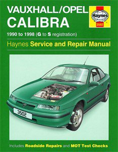 Haynes Reparationshandbok, Vauxhall/Opel Calibra, Universal