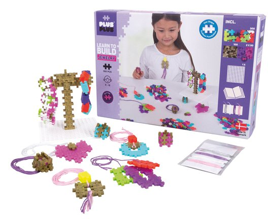 Plus Plus Learn to Build Jewelry