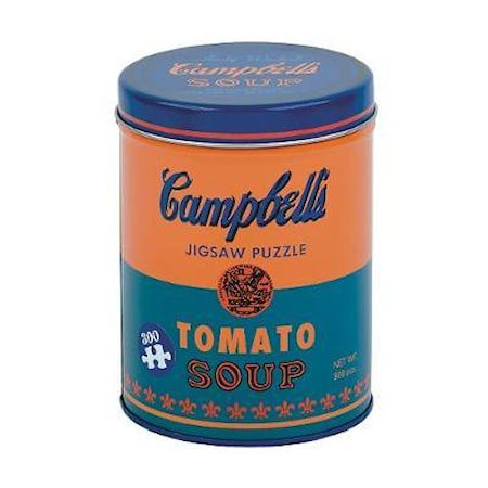 Andy Warhol Pussel Soup Can Orange 300 biter