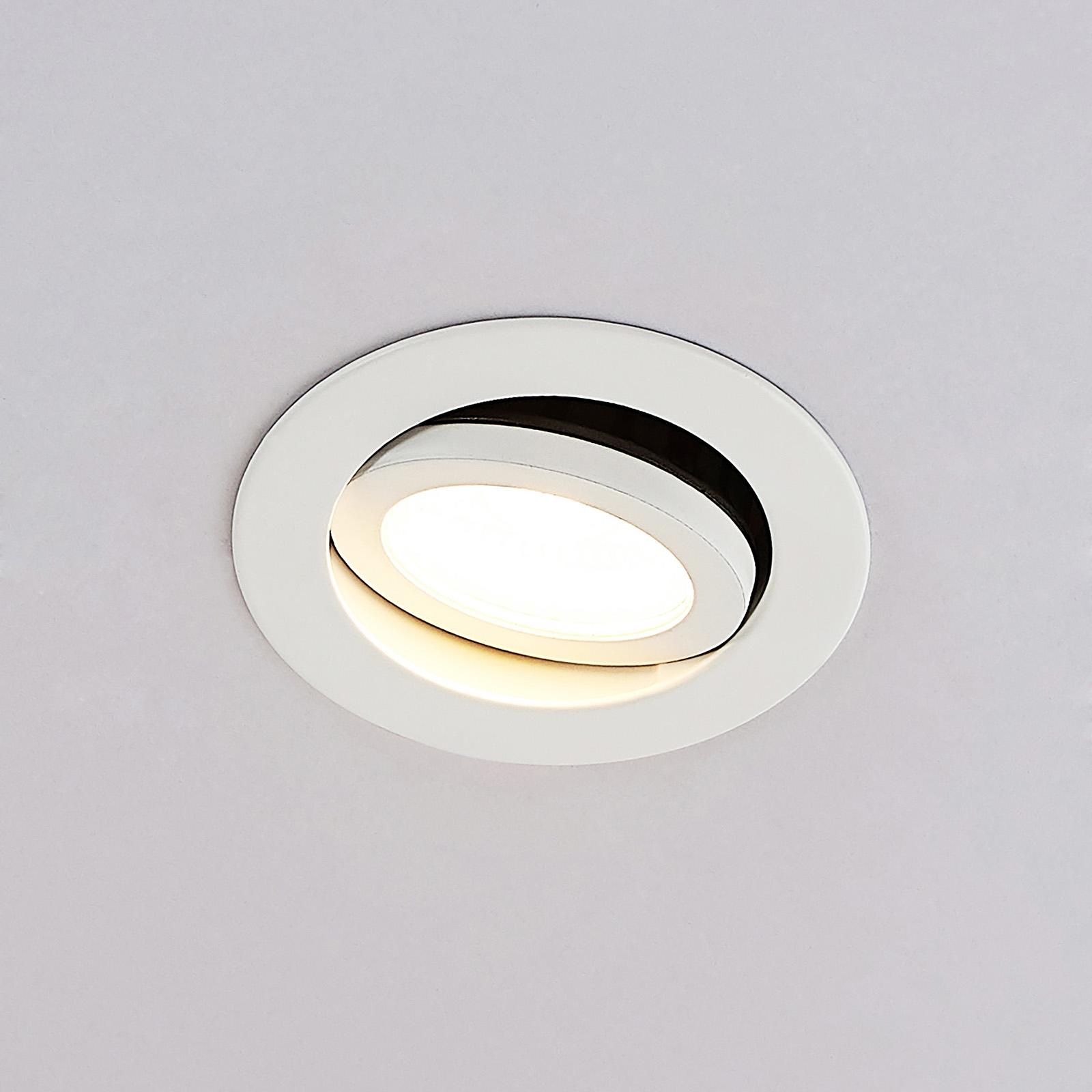 Arcchio Nabor -LED-alasvalo 36° 2 700K IP65, 6,4W