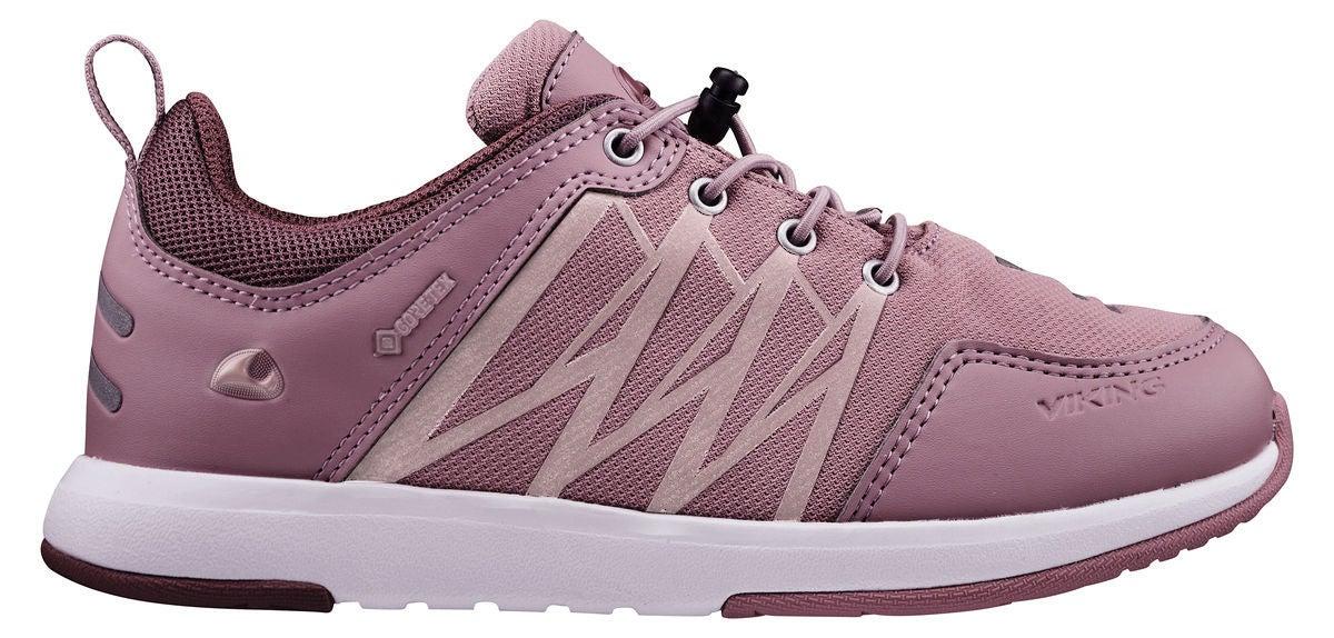 Viking Oppsal Low GTX R Sneaker, Antiquerose/Dusty Pink, 30
