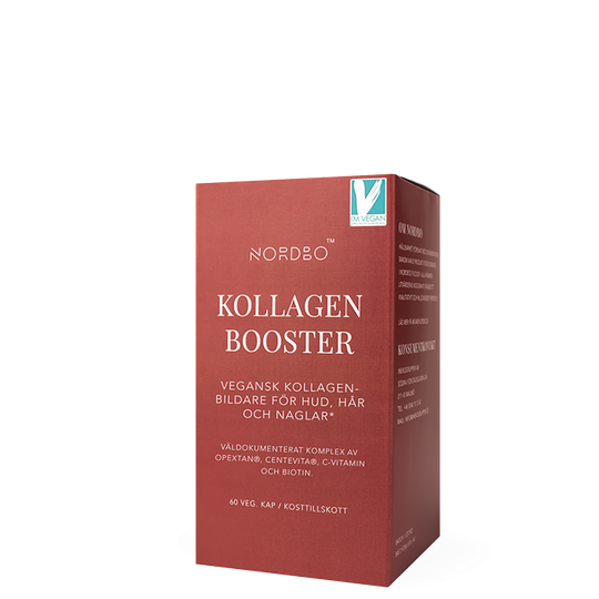 Nordbo Vegan Kollagen Booster, 60 kapslar