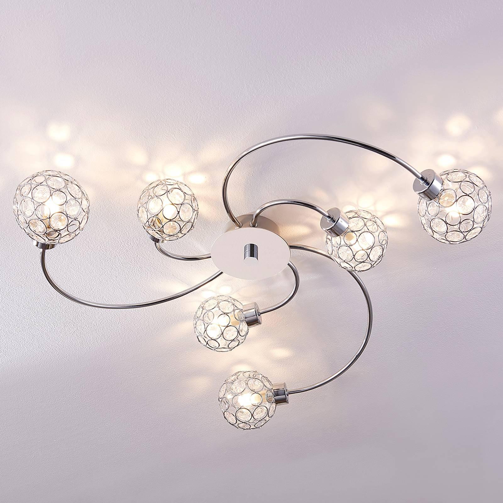 Dekorativ LED-taklampe Tyron