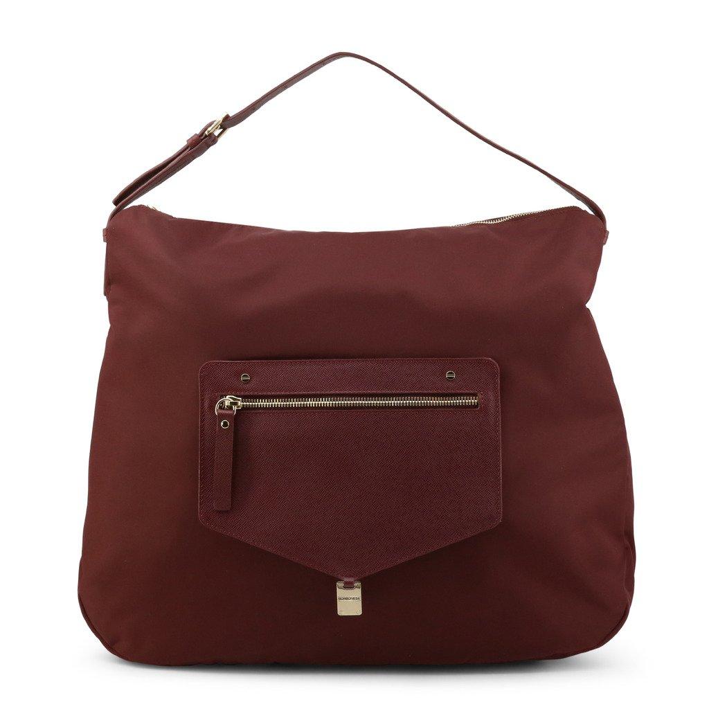 Borbonese Women's Shoulder Bag Violet 924638-199 - violet NOSIZE