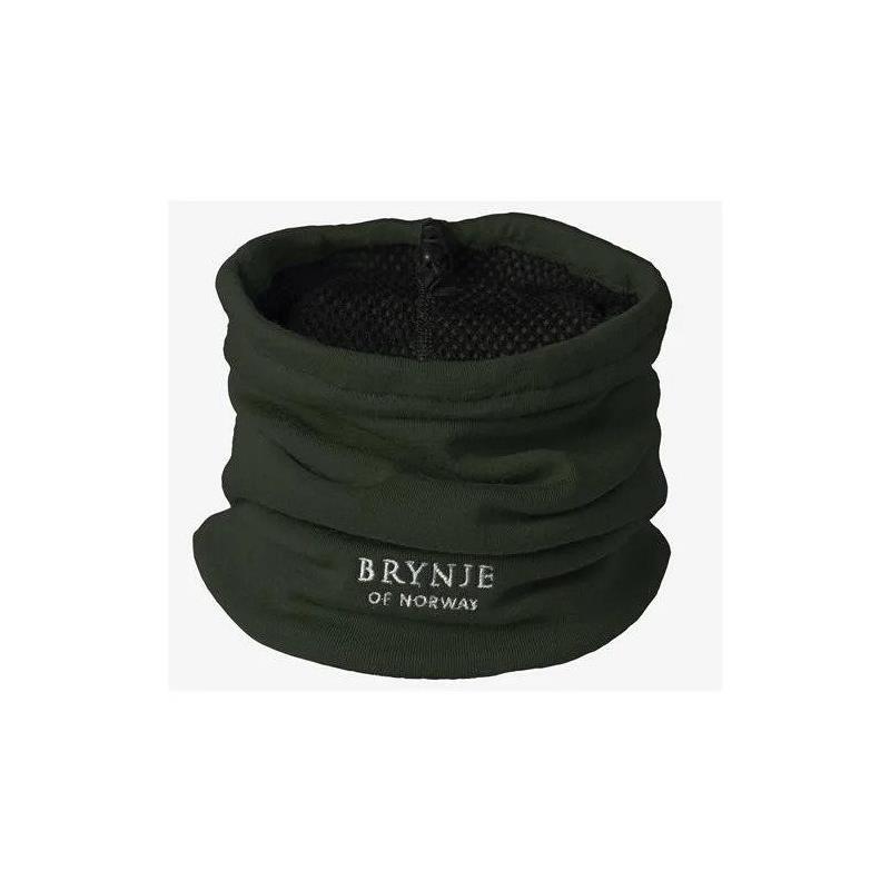 Brynje Arctic Hals - One size Green Hals/Lue/Buff med strikk