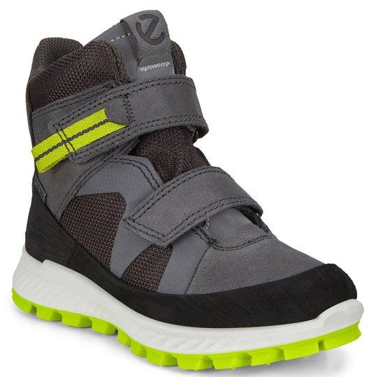 ECCO Exostrike Sneaker, Black/Dark Shadow, 27
