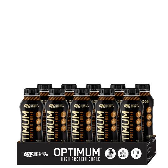 10 x Optimum High Protein Shake, 500 ml