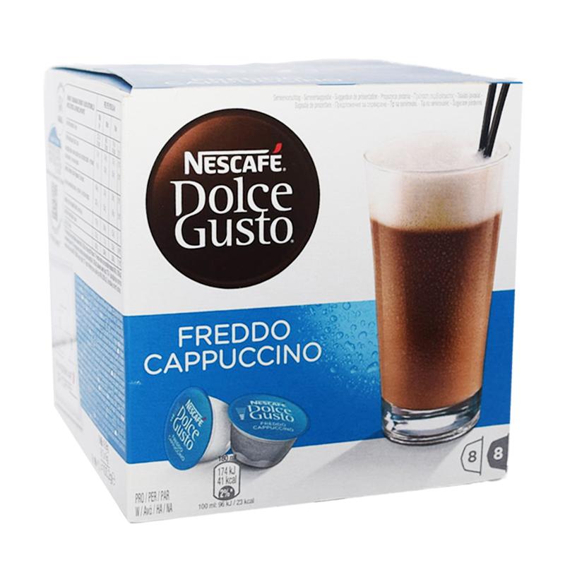"Kaffekapslar ""Freddo Cappuccino"" - 75% rabatt"