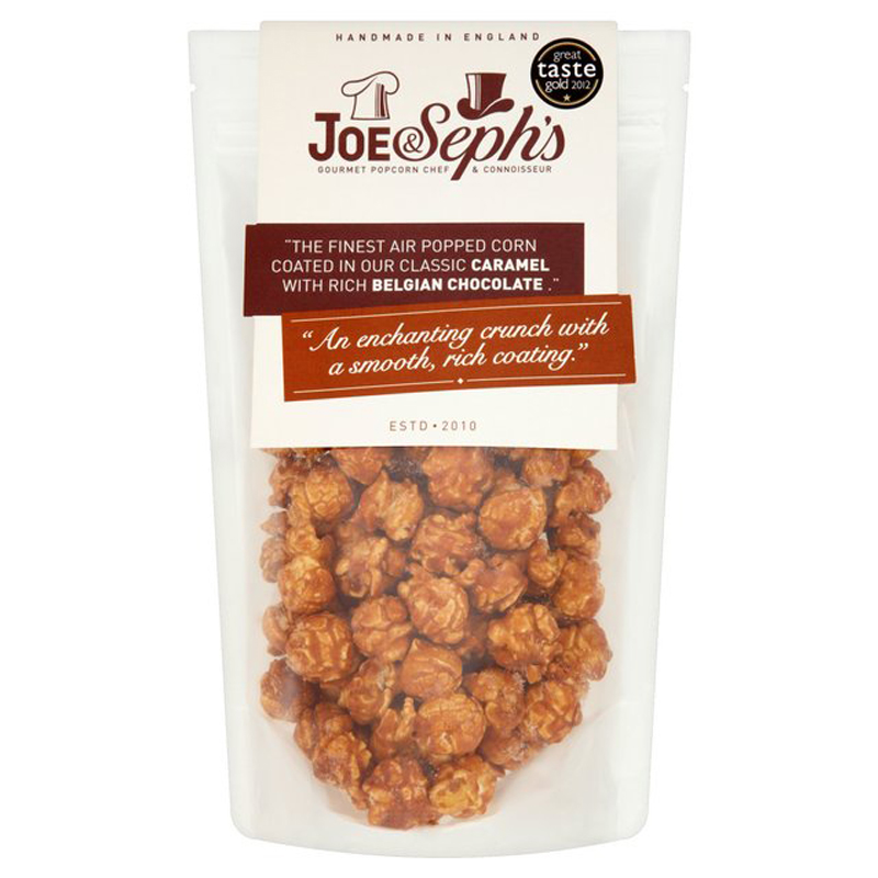 "Popcorn ""Caramel & Belgian Chocolate"" 80g - 67% rabatt"