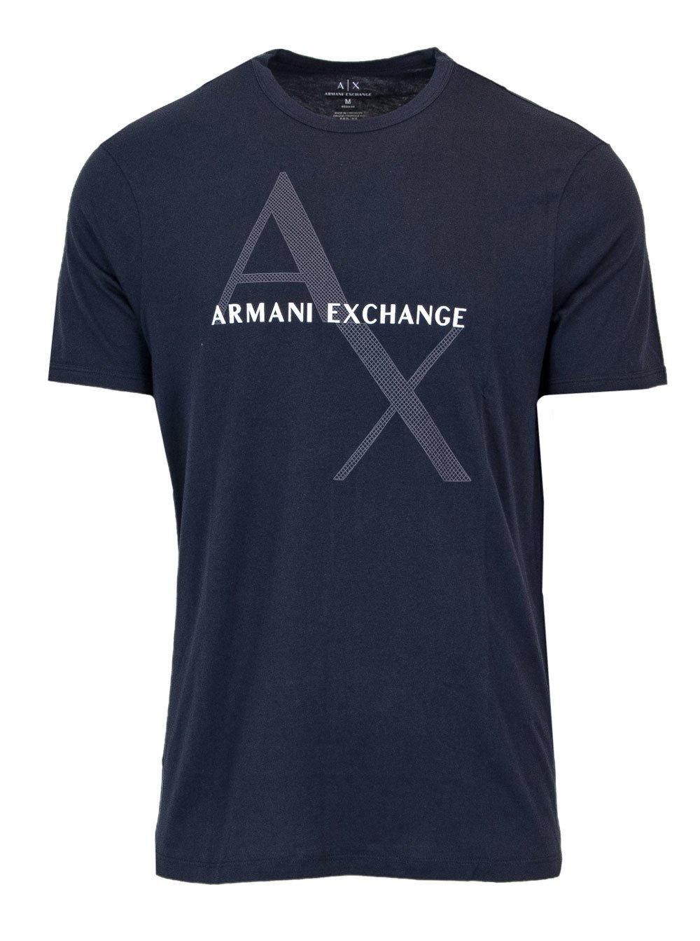 Armani Exchange Men's Polo Shirt Blue 165200 - blue-1 XS