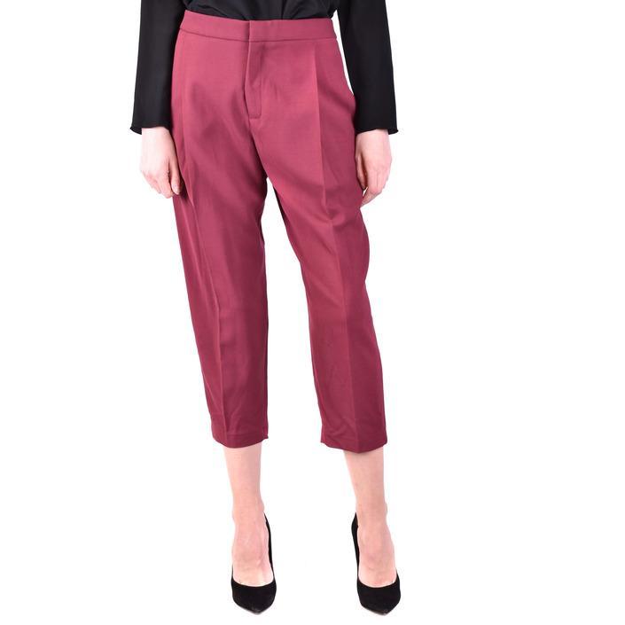 Elisabetta Franchi Women's Trouser Bordeaux 229561 - bordeaux 42
