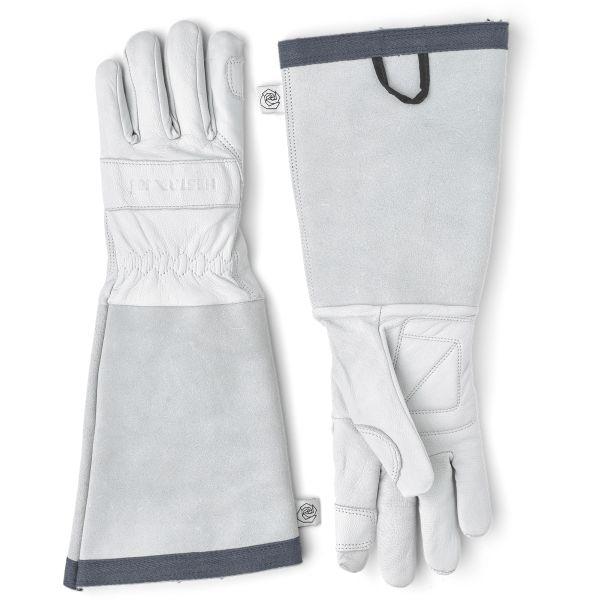 Hestra Job Garden Rose Glove Hagehanske Off-White Str. 6