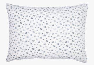 Opale tyynyliina kreppipuuvillaa sininen