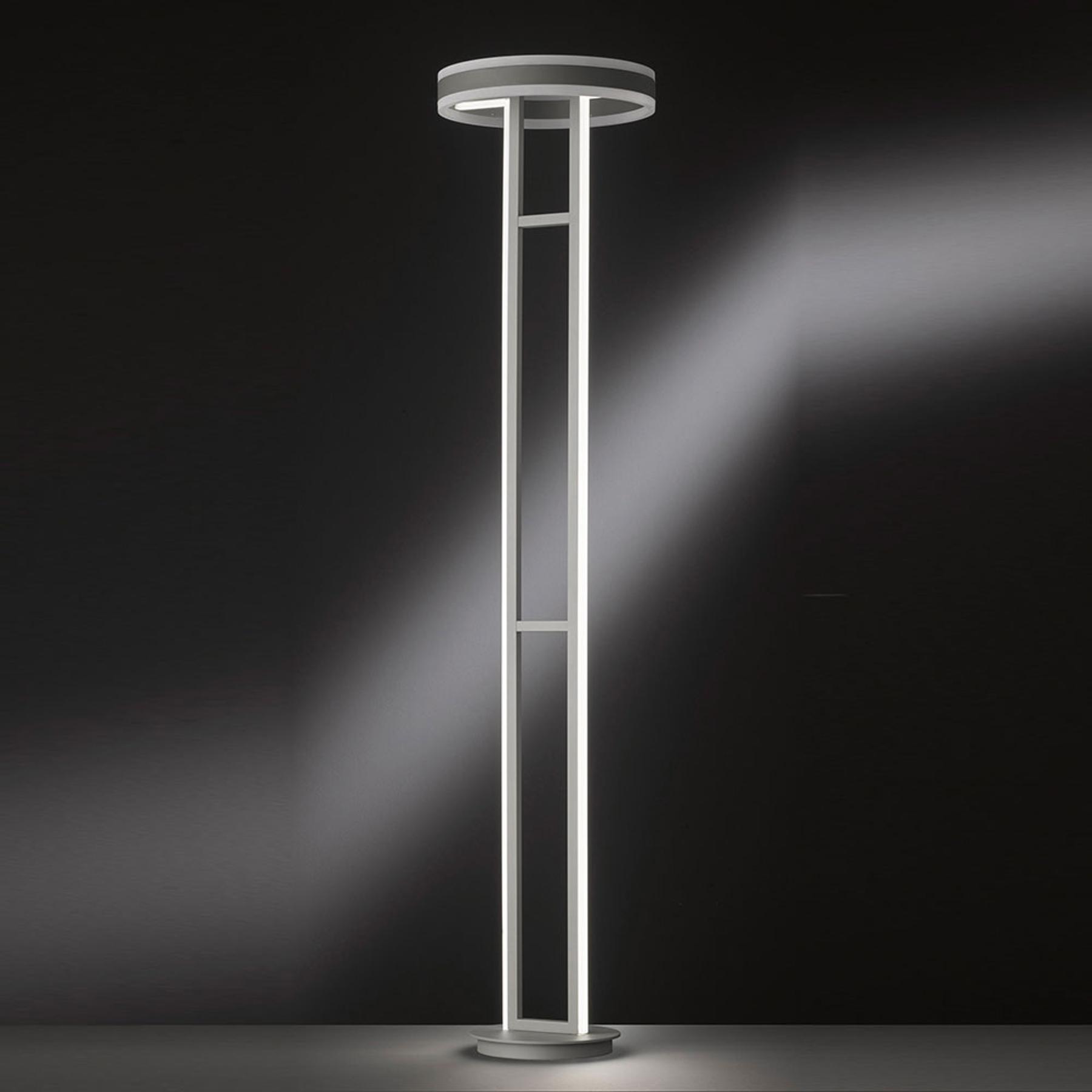 LED-kattovalaisin Kemi, kaukosäädin, pyöreä