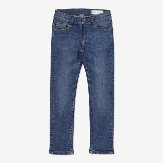 Jeans slim blå denim