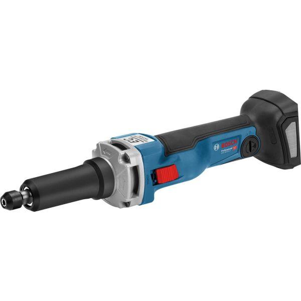 Bosch GGS 18V-23 LC Rettsliper med veske, uten batteri og lader