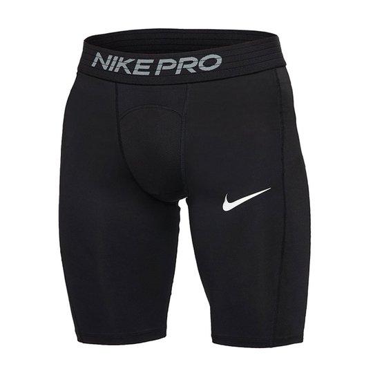 Nike Comp Pro Short Long, Black