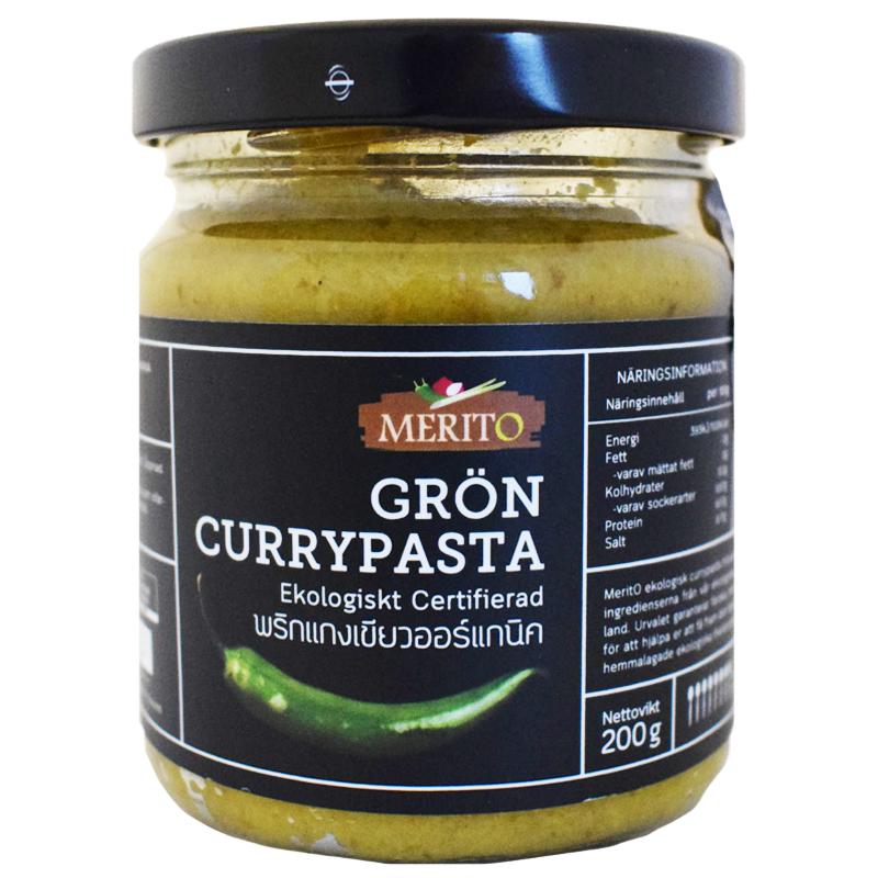 Eko Grön Currypasta 200g - 50% rabatt