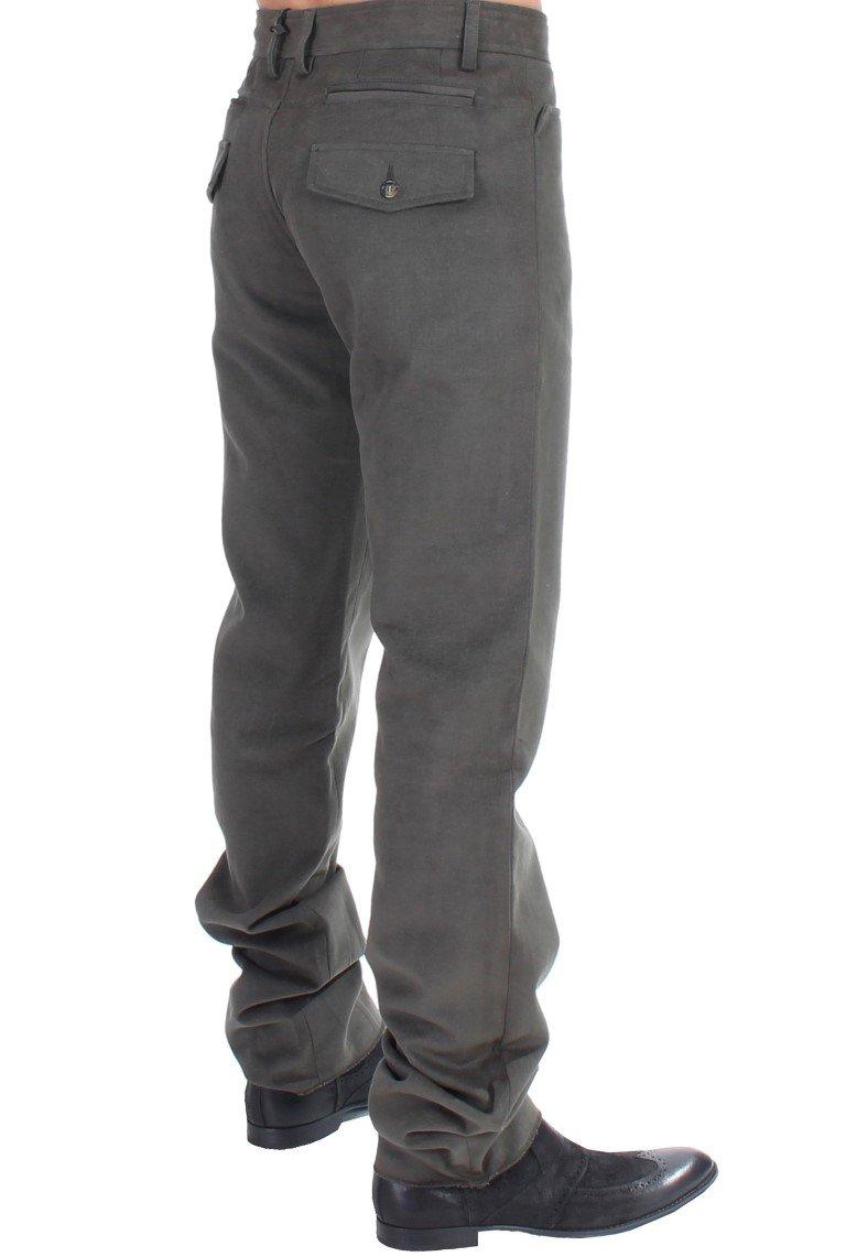 Cavalli Men's Trousers Green SIG10979 - IT48 | M
