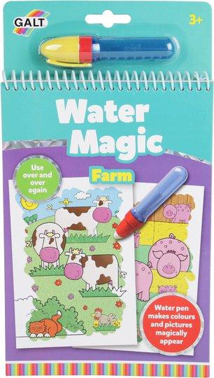 Galt Malebok Water Magic Bondegård
