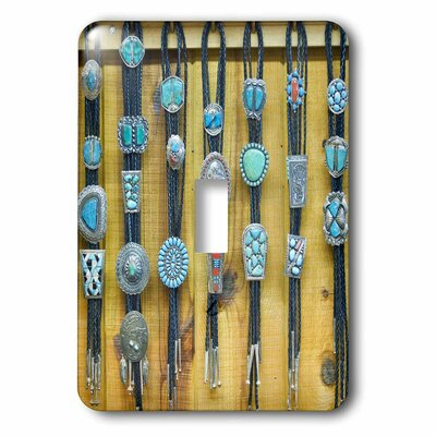New Mexico, Gallup, Bolo Ties for Sale, Market 1-Gang Toggle Light Switch Wall Plate