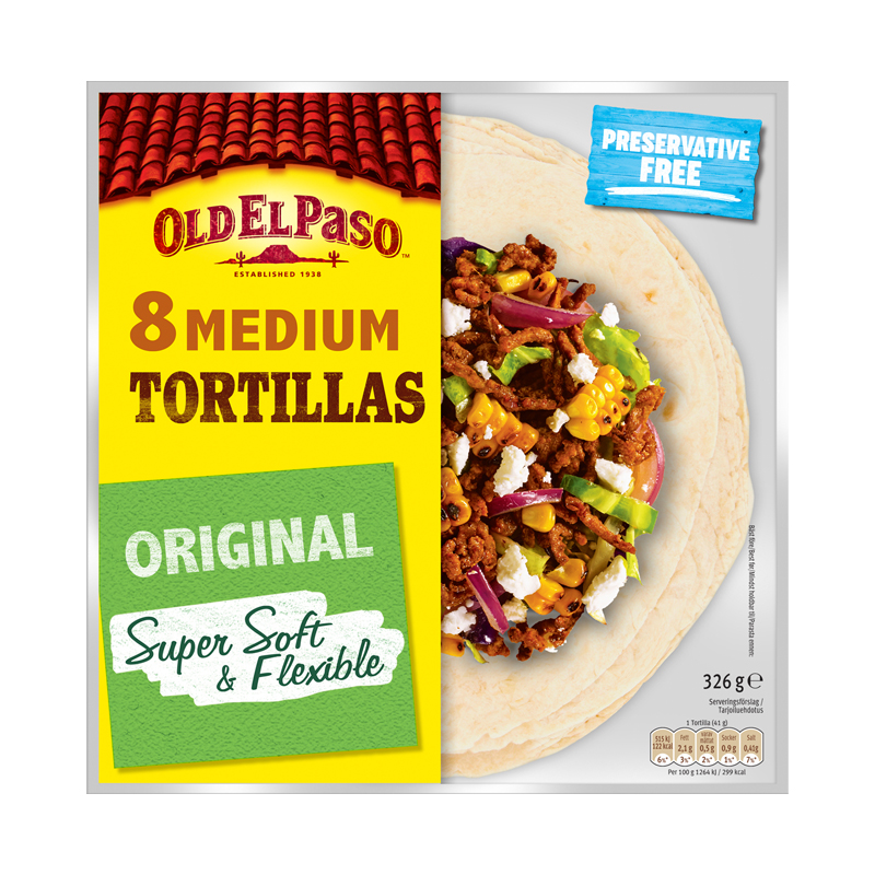 Tortillabröd Super Soft - 14% rabatt