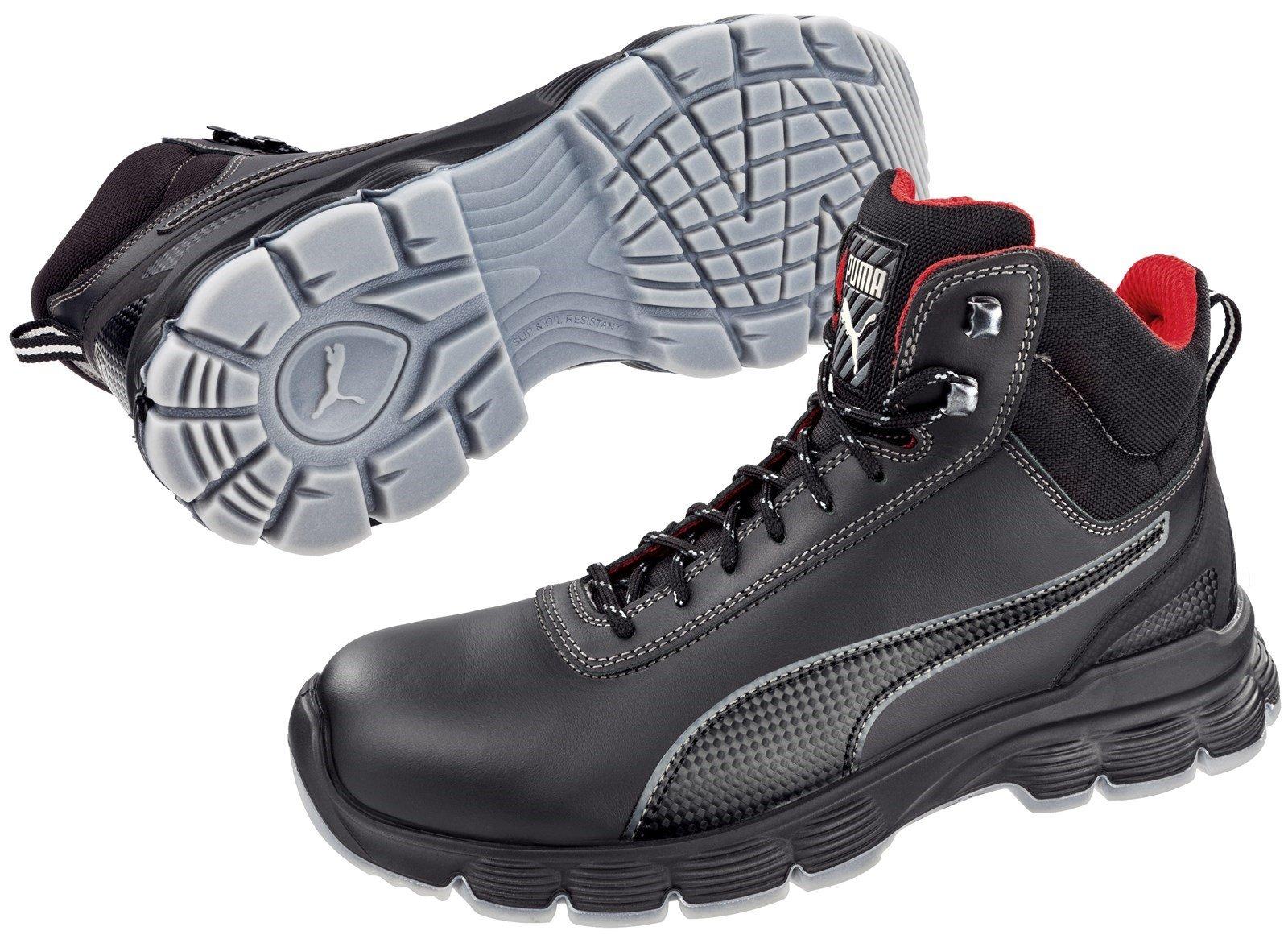 Puma Safety Unisex Condor Mid S3 Boot Black 32823 - Black 7