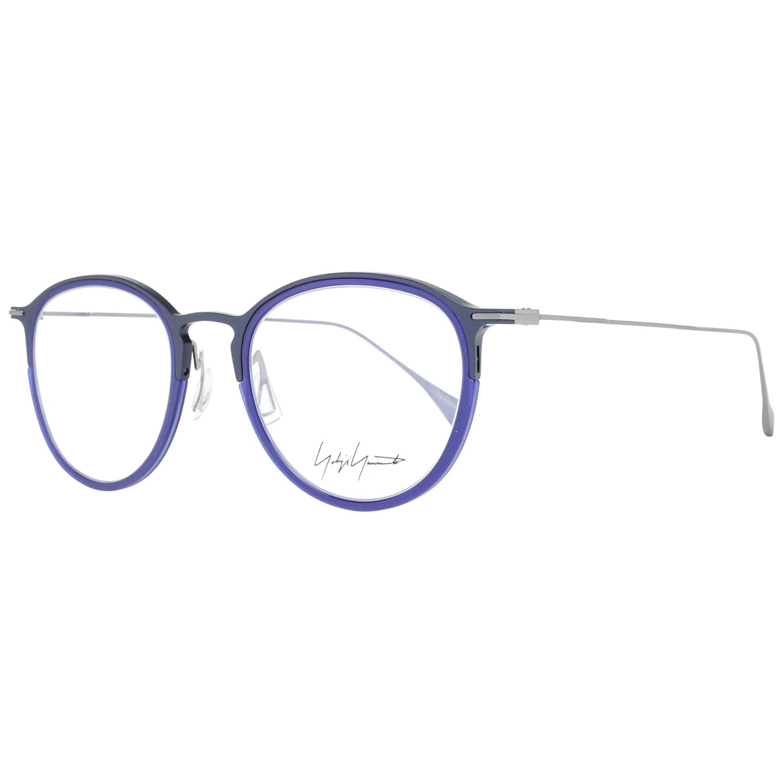 Yohji Yamamoto Men's Optical Frames Eyewear Blue YY1042 49606