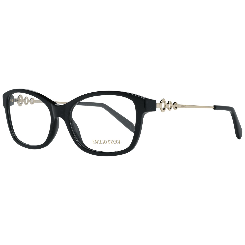 Emilio Pucci Women's Optical Frames Eyewear Black EP5042 53001