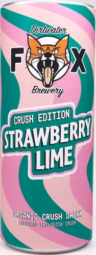 Dirtwater Fox Crush Strawberry/Lime 25cl
