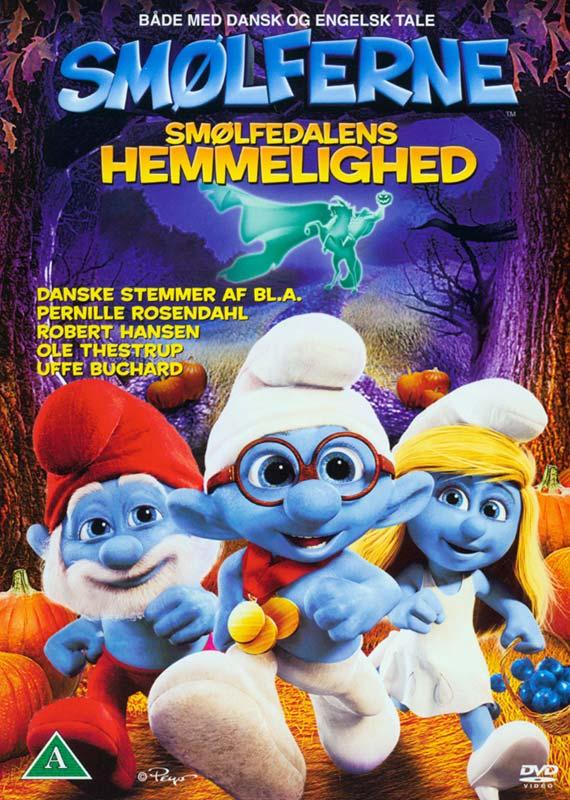 Smølferne: Smølfedalens hemmelighed/Smurfs, The: The Legend of Smurfy Hollow - DVD