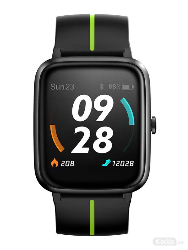 Ulefone Watch GPS Black&Green 733911 Träningsklocka