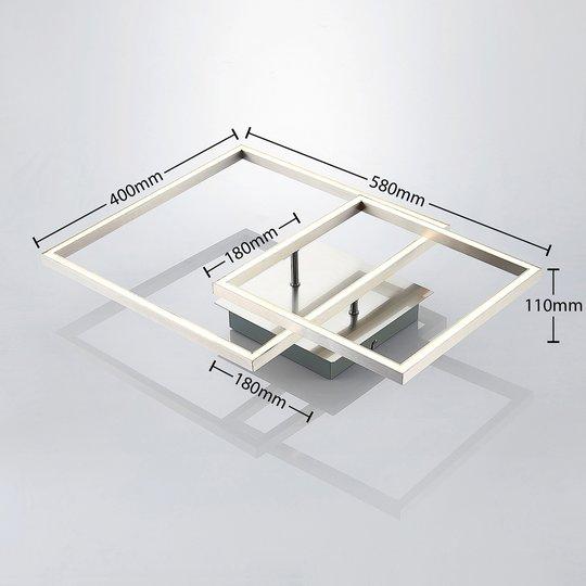 Lindby Katianna -LED-kattovalaisin 2 neliöllä