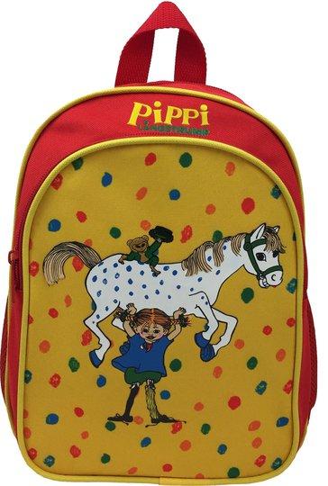 Pippi Langstrømpe Ryggsekk 5.5L, Gul/Rød