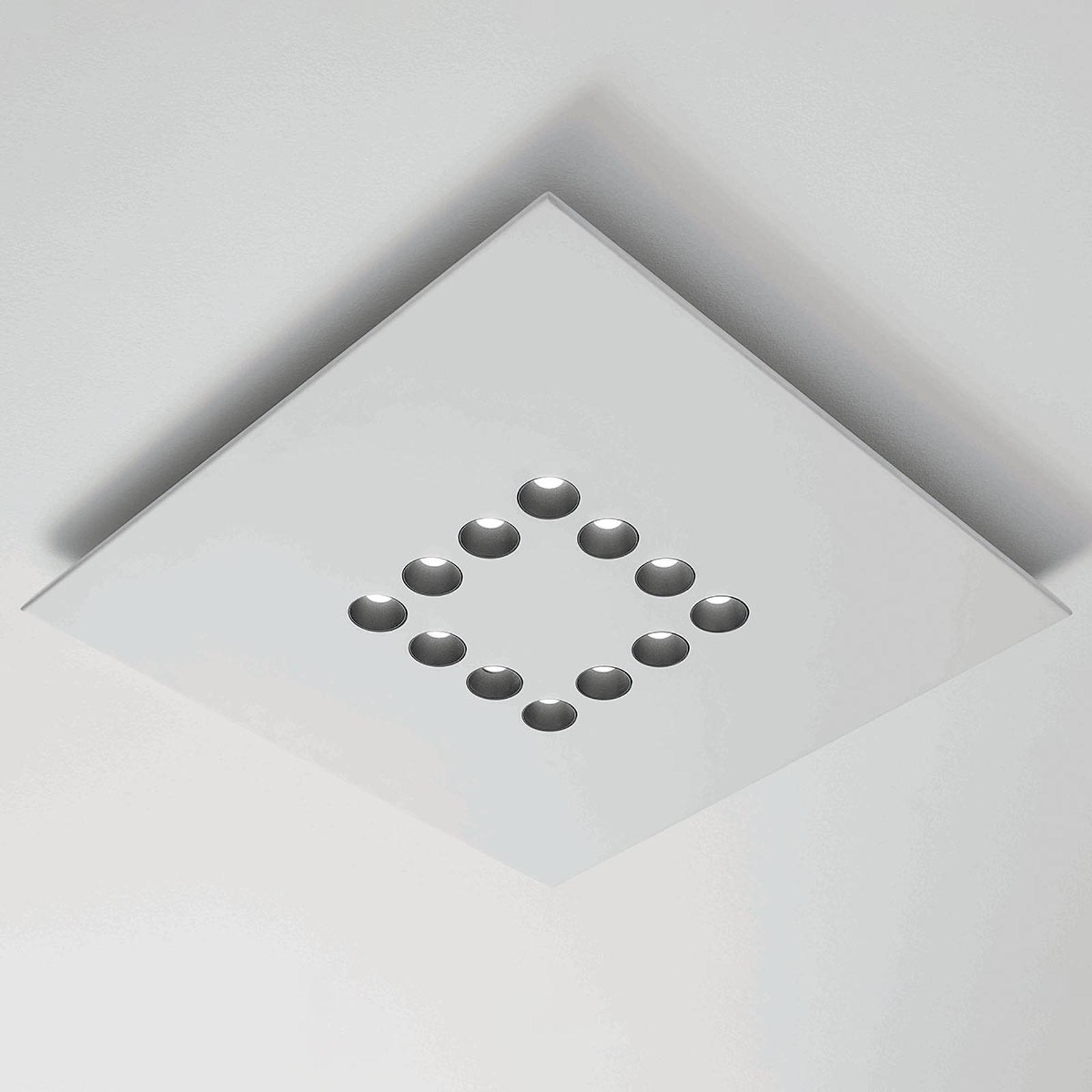 ICONE Confort-LED-kattovalaisin, moderni valkoinen