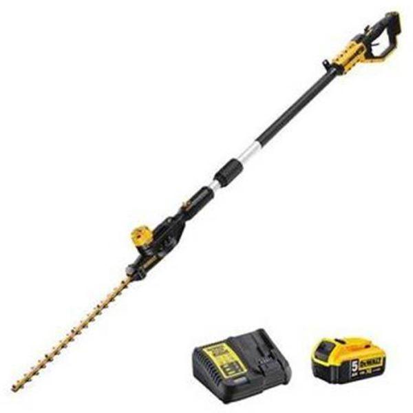 Dewalt DCMPH566P1-QW Hekksaks med 5 Ah-batteri og lader
