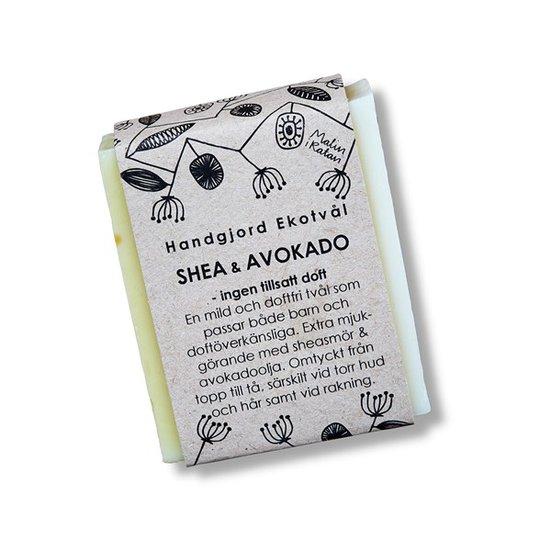 Malin i Ratan Handgjord Ekotvål Shea & Avokado - Utan parfym