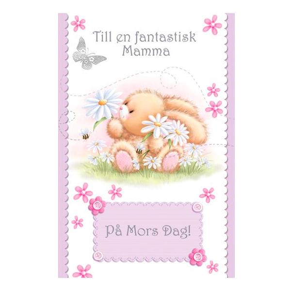 Mors Dag Kort Till en Fantastisk Mamma
