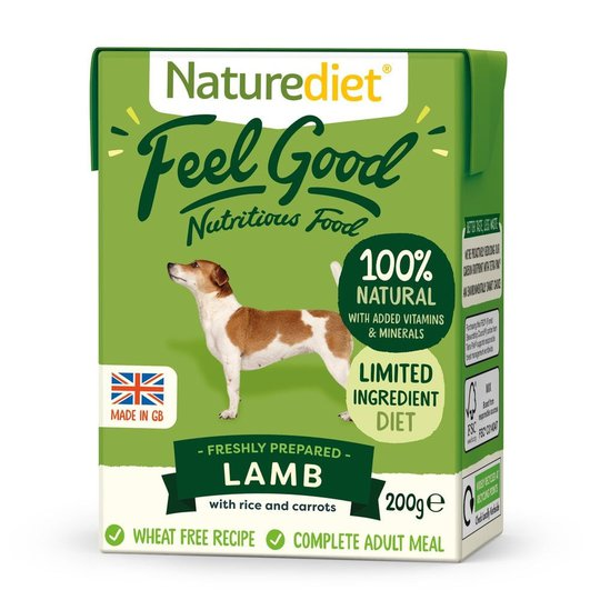 Naturediet Feel Good Lamm (200 gram)