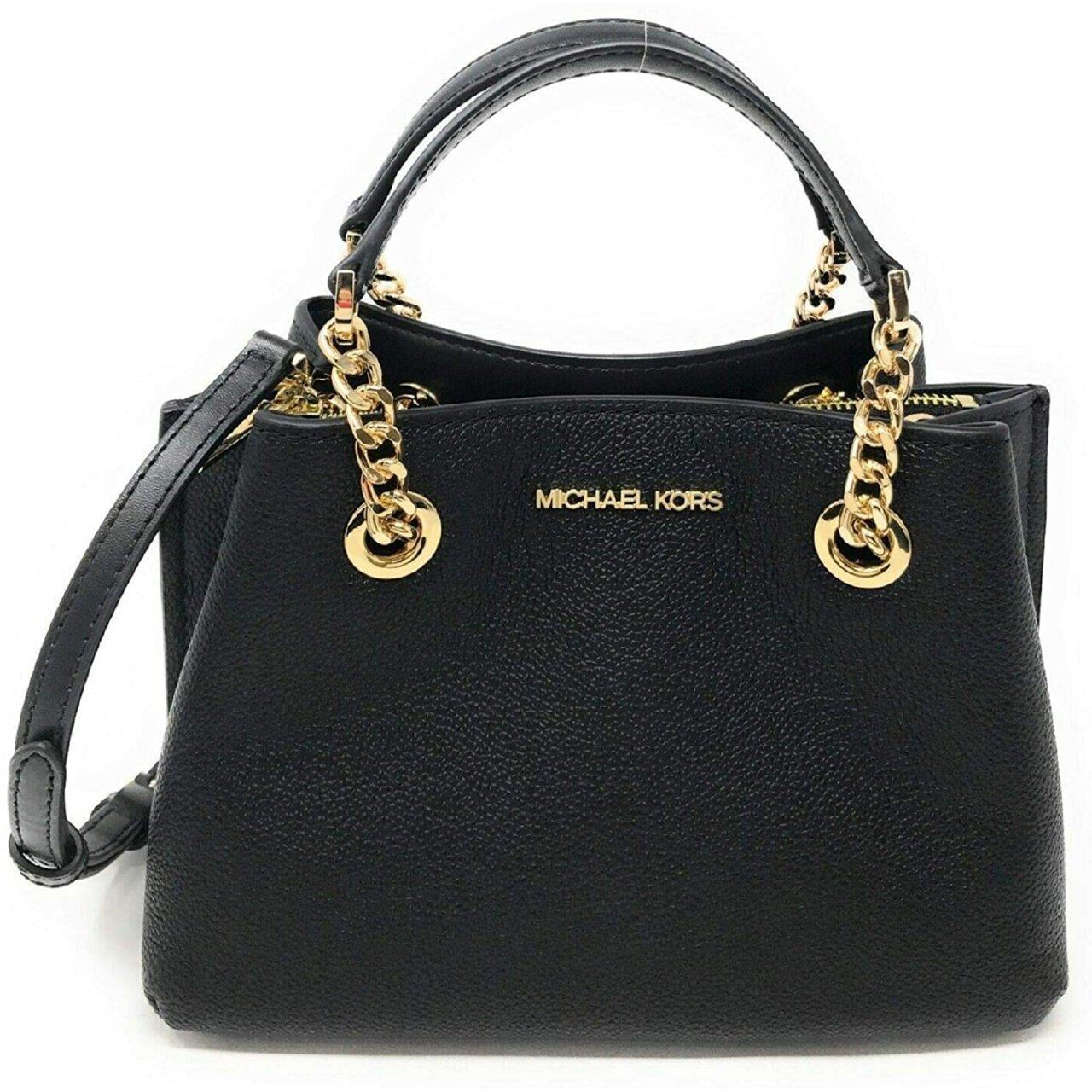 Michael Kors Women's Teagen Small Messenger Crossbody Bag Black MK29426